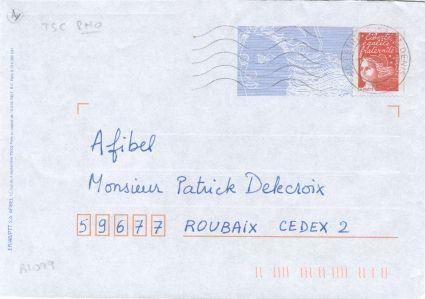 exemple de lettre a poster Les entiers postaux exemple de lettre a poster
